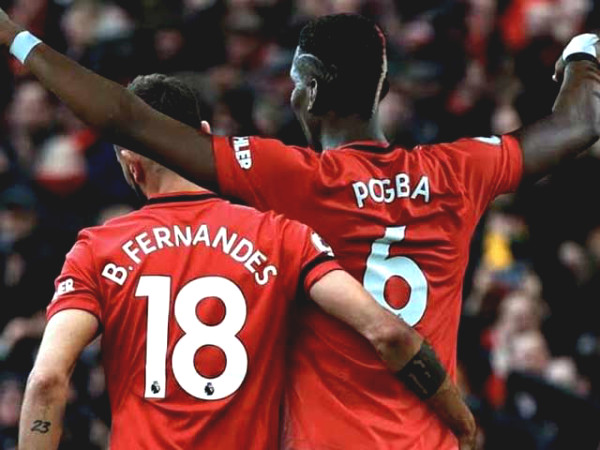 Pogba - Fernandes fascinated millions of fans in the first MU match together