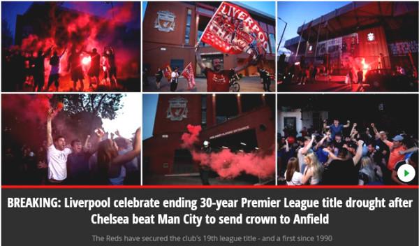 Premiership champions Liverpool: Press acclamation, the legendary