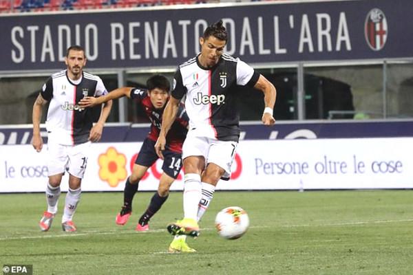 Juventus - Lecce match verdict: Ronaldo sublimation