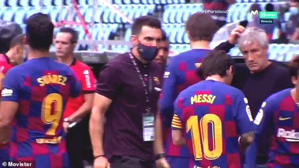Messi rebel leader: President Barcelona until the coach Setien emergency meeting
