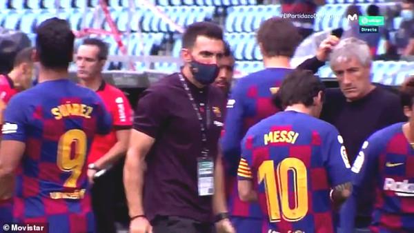 Messi rebel leader: President Barcelona until the coach Setien emergency meeting