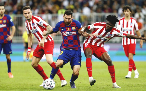 Direct football Barcelona - Atletico Madrid: The last minute stress (End of period)