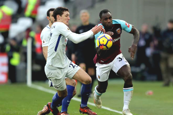West Ham - Chelsea football verdict: fiery London derby, Manchester United fears