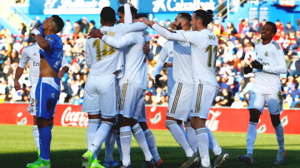Direct football Real Madrid - Getafe: attempt failed (Timeout)