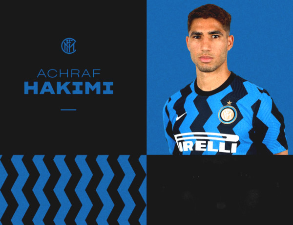 Football Hot news 3/7: Hakimi officially joined Inter Milan