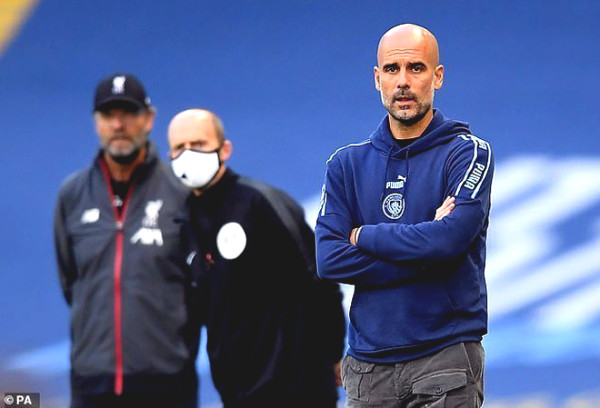 Liverpool lost miserably Man City: Shock reproduce, Pep