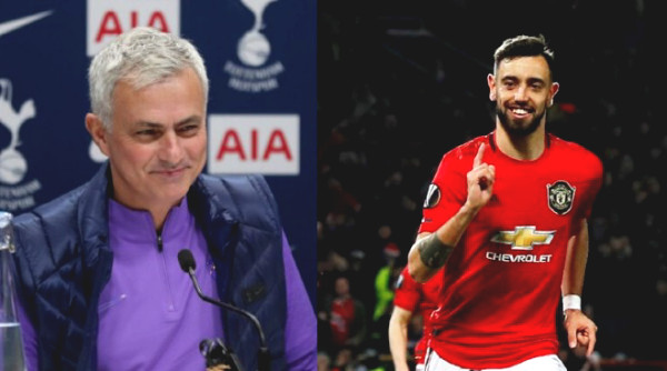 Mourinho said Bruno Fernandes shock, MU fans react like?
