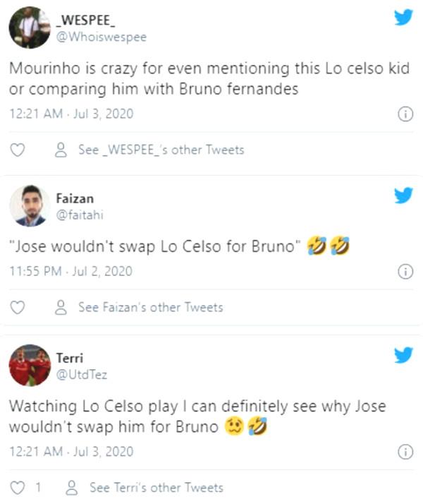 Mourinho said Bruno Fernandes shock, MU fans react like?