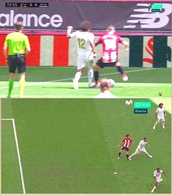 Ramos again set a record 11m wide, Zidane said nothing about the accusations Real is bias?