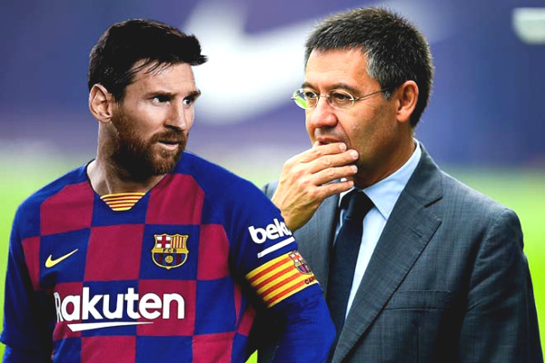 Messi Barca extended stop: Declare war on President Bartomeu, old man wants to flip the seat