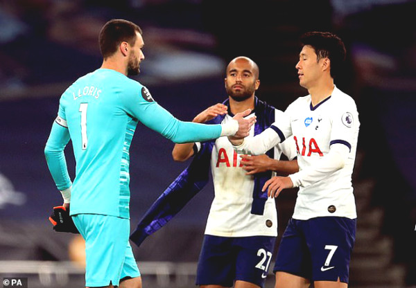 Son Heung-Min almost grumbling to captain Tottenham: Jose Mourinho say?