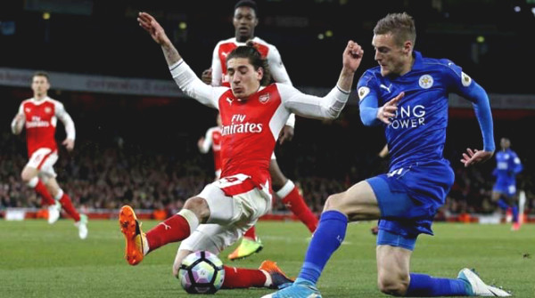 "Verdict football Arsenal - Leicester: ""soar"" decline, MU forward to good news"