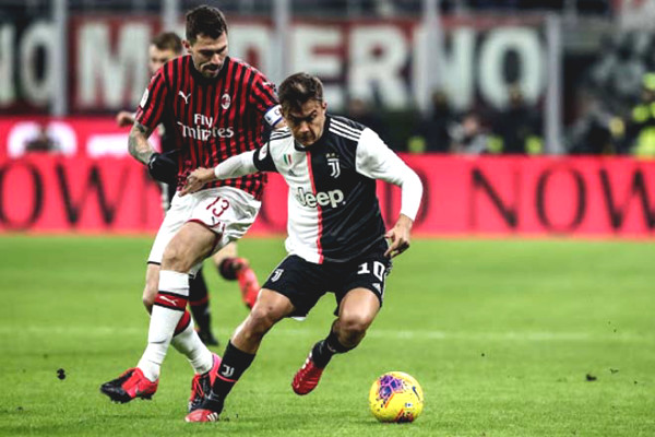 Get the AC Milan football - Juventus: War Ronaldo Ibrahimovic and disposition throne