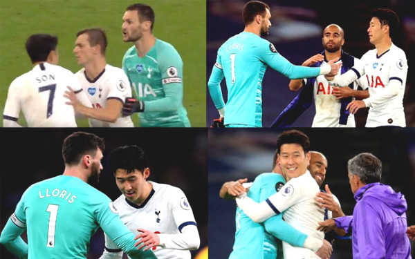 "Son Heung-Min almost ""attacked"" and made peace with teammates, fans assumed that as ""acting"""