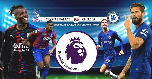 Direct Football Crystal Palace - Chelsea: Whirl prop (End of period)