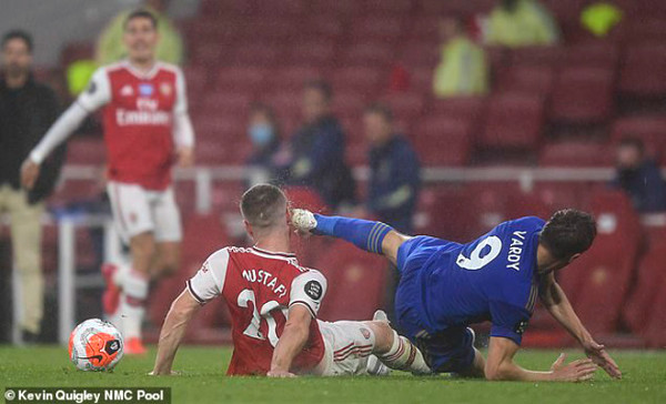 Arsenal star after 48 seconds red card: coach Arteta urgent, demanding pursue both Vardy