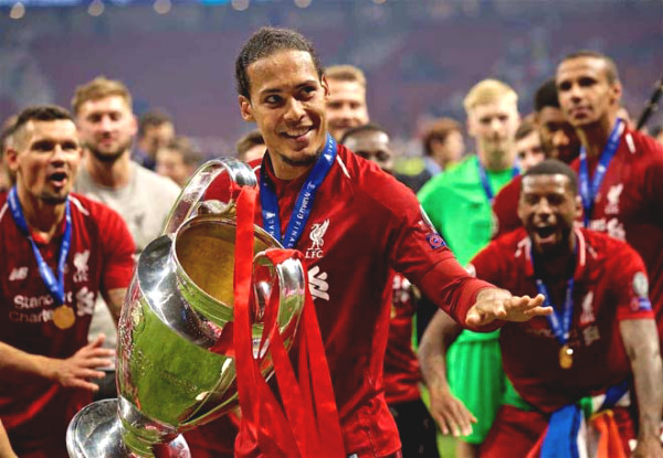 Superstar Van Dijk: Statistics amazing, gold broke Messi - Ronaldo