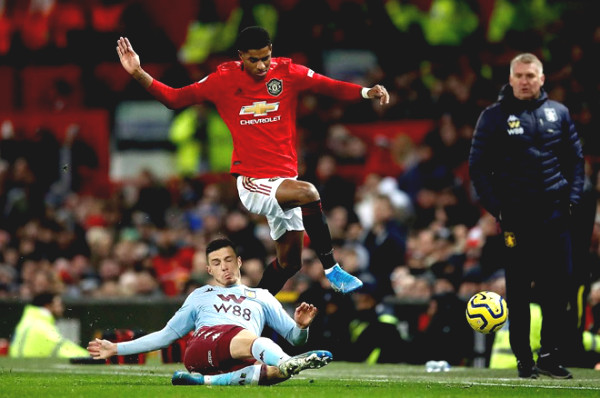 Direct football Aston Villa - Manchester United: Rashford miss the opportunity to eat delicious (End of period)