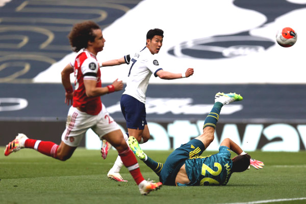 Son Heung-Min shined: respectable record, Tottenham bright door to European