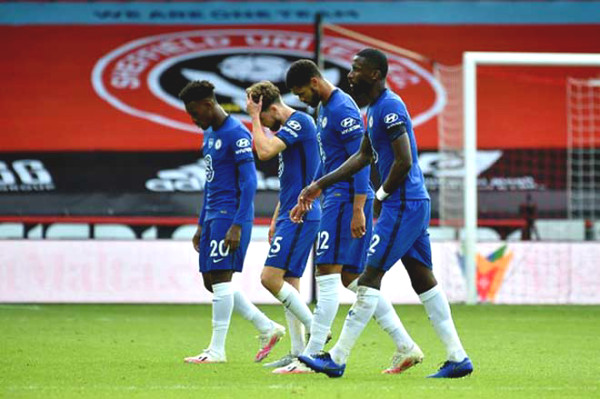 Chelsea is at risk of falling out of top 4, a series of stars refused to enlist