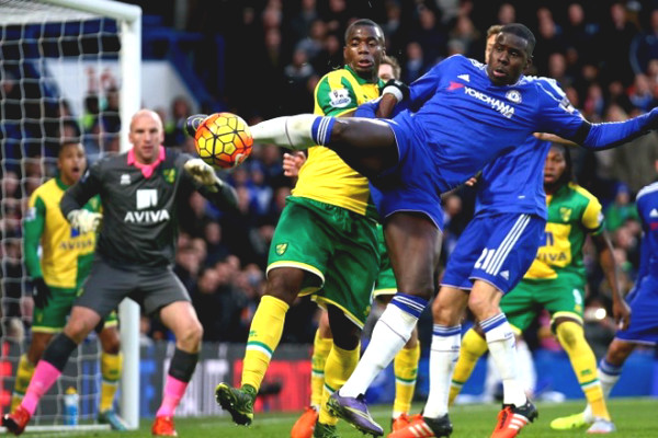 "Verdict football Chelsea - Norwich: Opportunities ""bombardment"", solid Top 3"