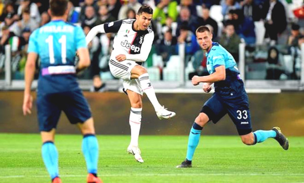 Verdict Soccer Sassuolo - Juventus: Ronaldo sublimation,
