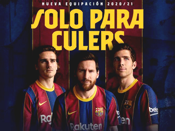"Barca debuts new jersey being criticized for ""clones"" of Crystal Palace, 4 stars are confusingly absent"