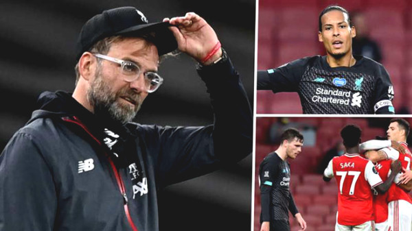 Liverpool lost to Arsenal: Van Dijk Crime map admit, Klopp vent pupil