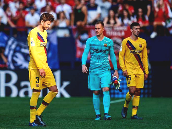 Verdict football Barcelona - Osasuna: Messi effort, waiting for Real to stumble