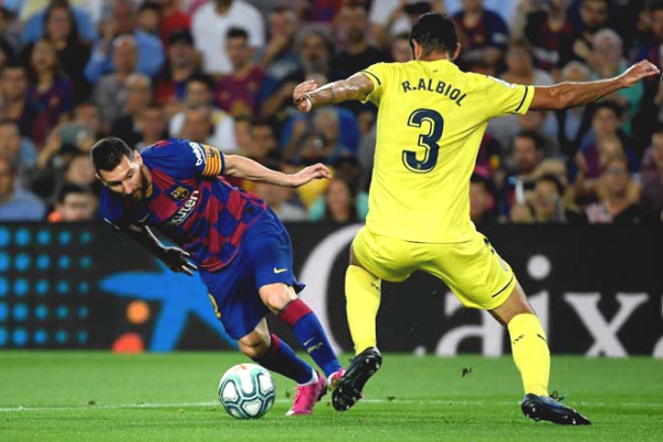 Verdict football Barcelona - Osasuna: Messi effort, pending Real stumble