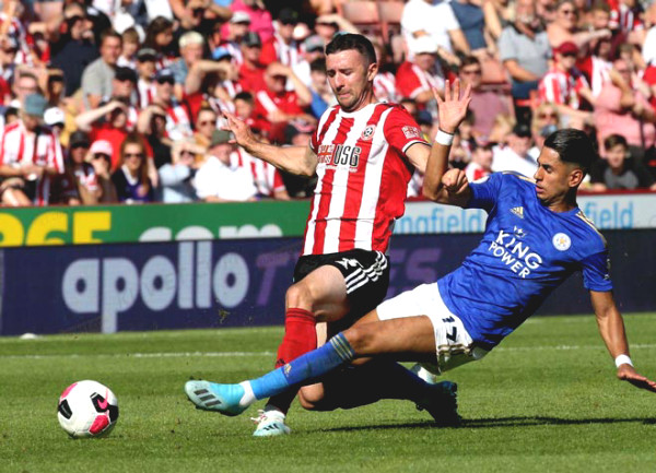 Direct football Leicester City - Sheffield United: The gentle victory (End of time)