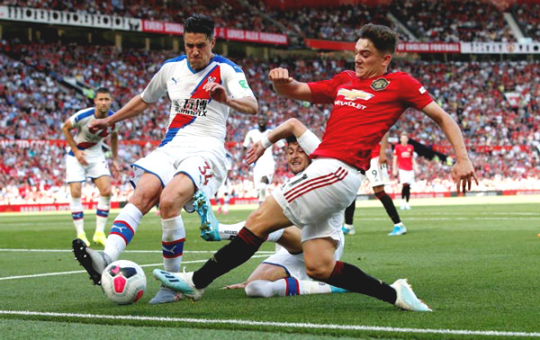 Direct Football Crystal Palace - Manchester United: Goals denied on the line (End)