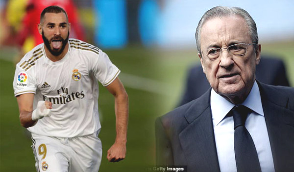 La Liga champion is Real Madrid: magnate Perez claims the Golden Ball for Benzema