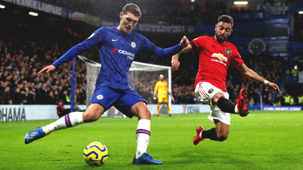 """Direct football MU - Chelsea: """"Reds"""" honor goal (End of period)"""