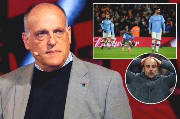 Man City vent, want to sue President La Liga because of