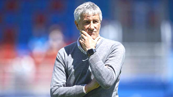 Coach Setien is about to be fired, staging stars recommended Kluivert