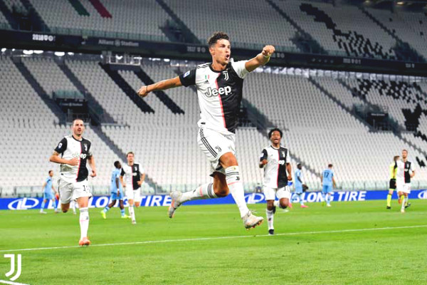 Ronaldo - Juventus played sublimation: Serie A Championship right this week?