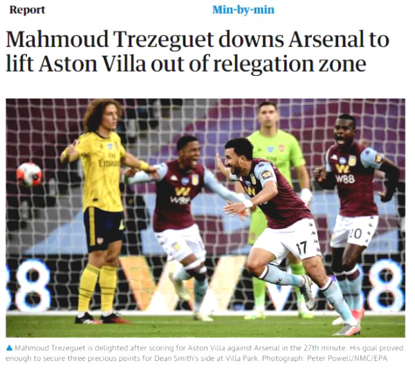 Arsenal lost in shock, British newspapers worried they may lose the FA Cup final too because of this