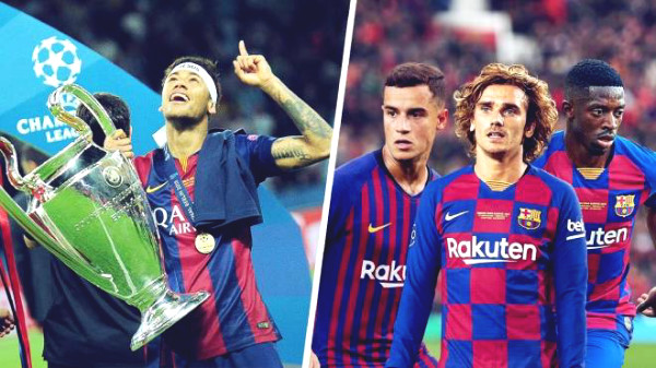 "Barca crippled for 3 ""blockbuster"" of 371 million pounds, Griezmann is as bad as Coutinho"