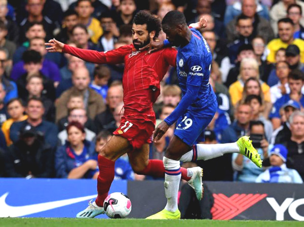 Direct Football Liverpool - Chelsea: The feast celebrates start (End of period)