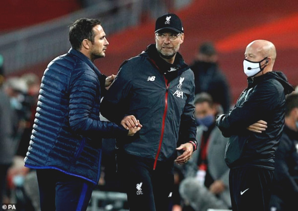 Chelsea lost 5 goals, took the Top 3: Lampard exasperated coach criticized Liverpool