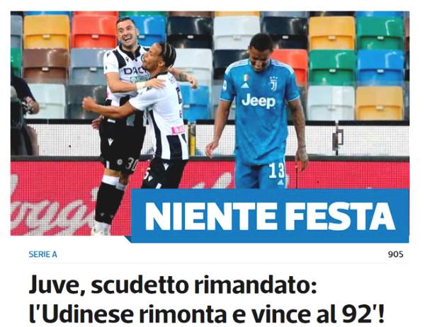 "Juventus lost to shock: Sarri ""harmed"" Ronaldo, Italian newspapers claim immediate dismiss to save C1 Cup"