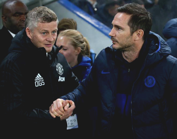 Manchester United - Chelsea won the C1 tickets: Solskjaer - Lampard who is better last season?