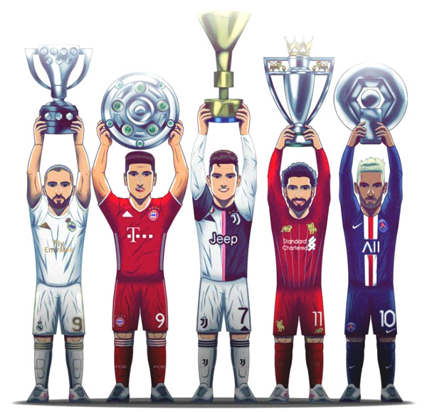 Revealing 5 European Champions: Why is Premiership the most interesting?