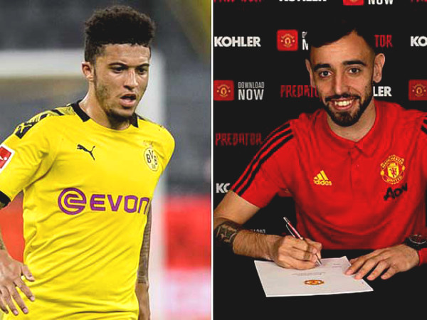 MU launched old tactic to buy Sancho, same as Bruno Fernandes deal