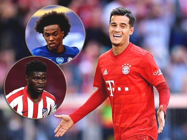 "Arsenal welcomes Coutinho and ""Dribble King"" of Europe, super attack lineup next season"
