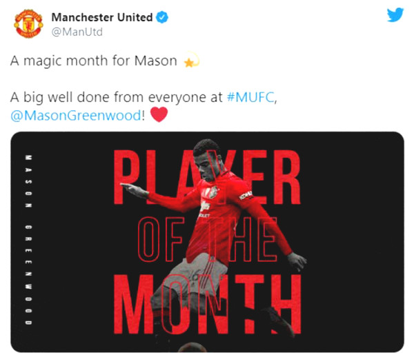 Bruno Fernandes received the prize Best of the Month, MU fans react unexpectedly