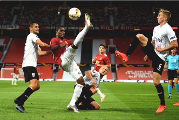 Europa League football result MU - Lask: blockbuster opening point