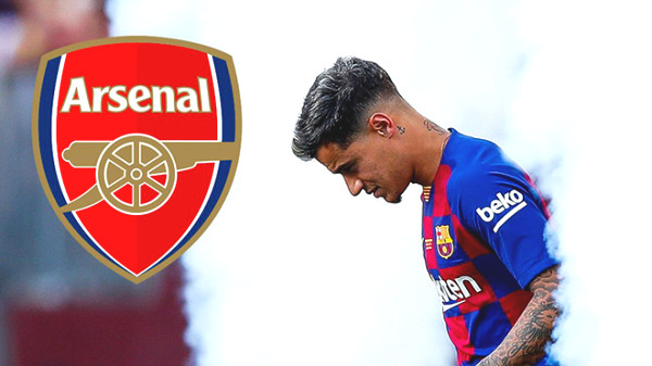 Coutinho put a foot to Arsenal: Barca