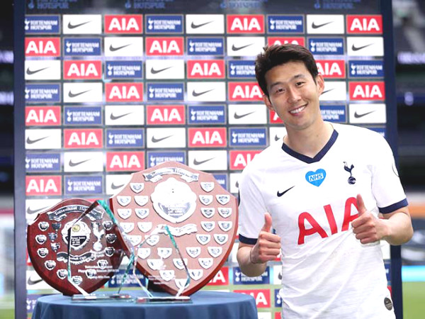 Son Heung-Min bumper prize, reached the top 9 of the European SAO attack